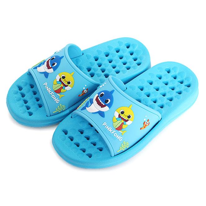 핑크퐁 아동용 EVA 욕실화 블루, 1개
