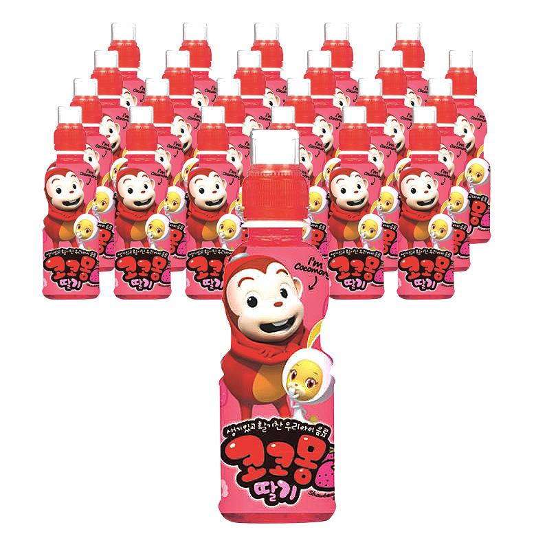 코코몽 딸기 200mlx24펫, 딸기맛, 24개입