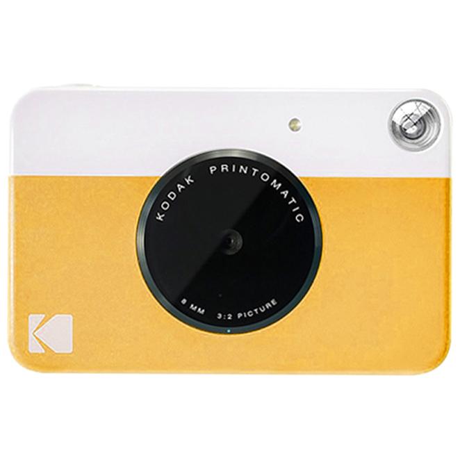 코닥 PRINTOMATIC 디지털 즉석 카메라 Rodomatic, Rodomatic(옐로우), 1개