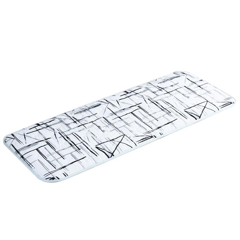 우진의료기 한일 1인용 찜질 전기매트 모던화이트 WJ-9787, 소형(50 x 140 cm)