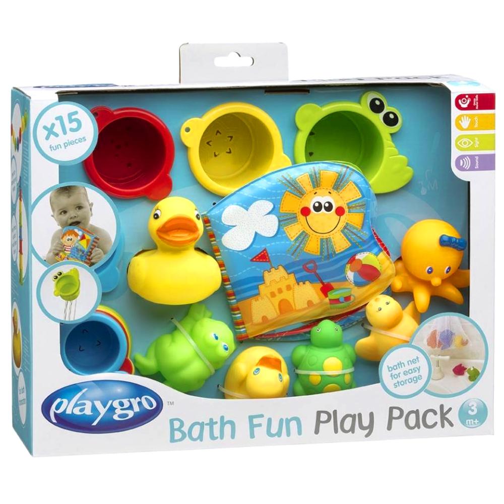 플레이그로 즐거운 목욕놀이 선물세트, 혼합색상