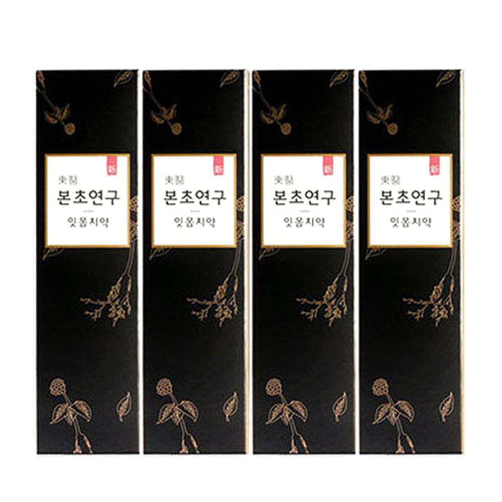 아모레퍼시픽 동의 본초연구 잇몸 치약, 100g, 4개입