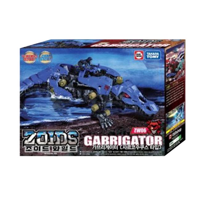타카라토미 조이드 와일드 가브리게이터 로봇장난감 ZW06, 혼합색상