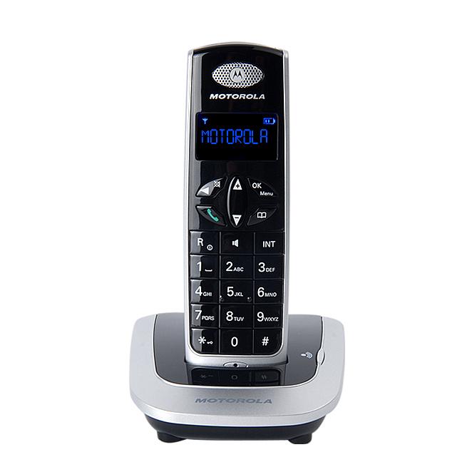 모토로라 무선 전화기 D501, 블랙