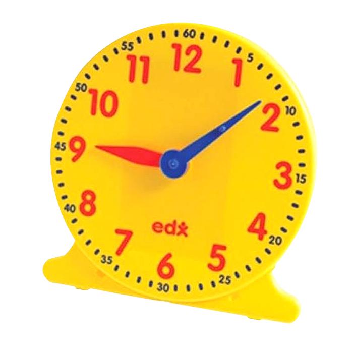 이디엑스 학습용완구 모형시계 12시간 학생용 지름 11cm, 1개