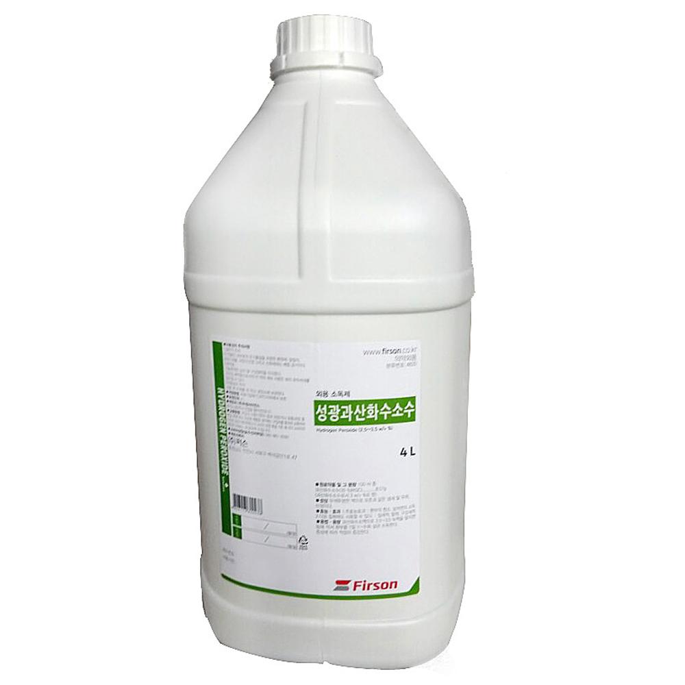 성광제약 과산화수소수 4L, 1개