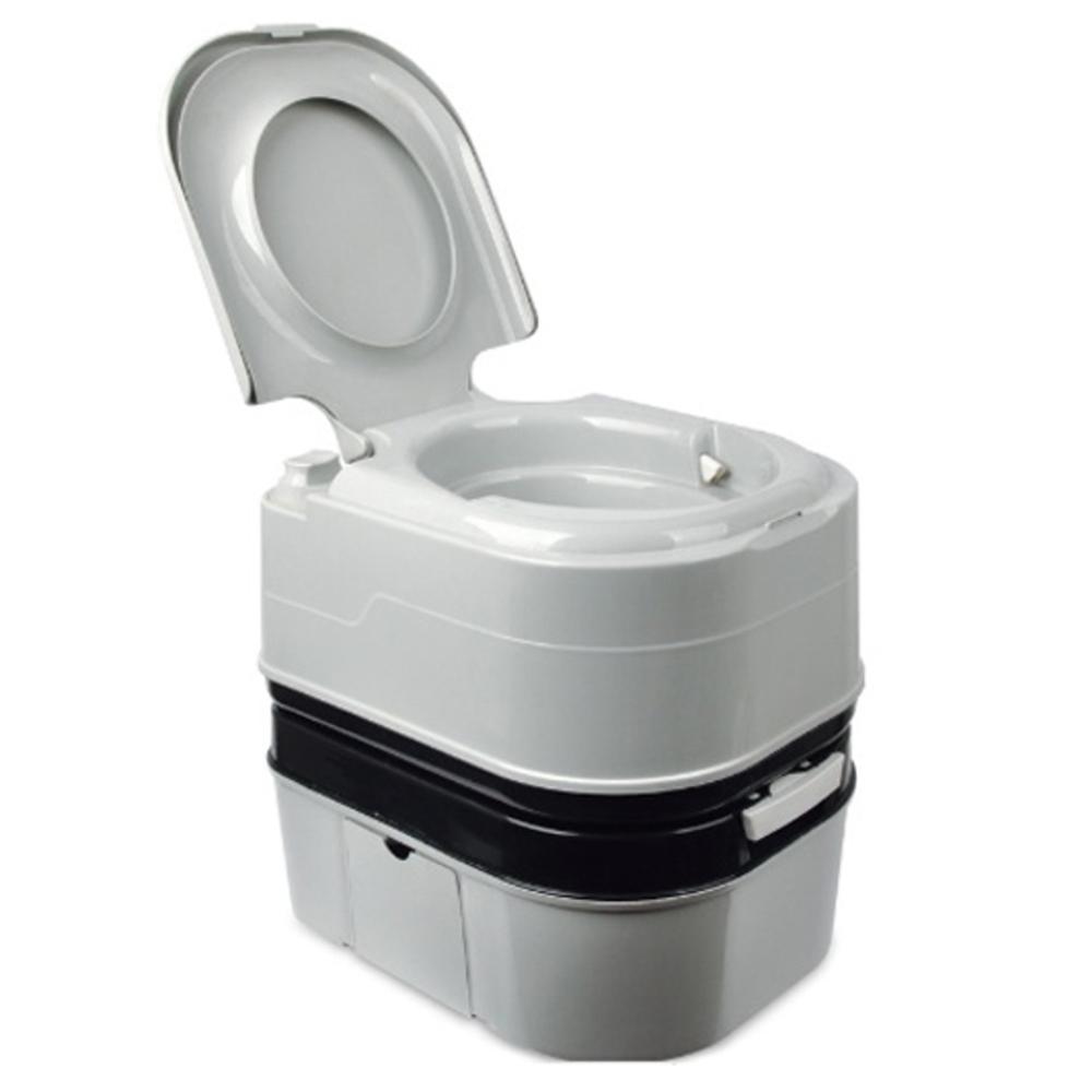 캔버라 뉴 휴대용 화장실, 혼합 색상, 1개