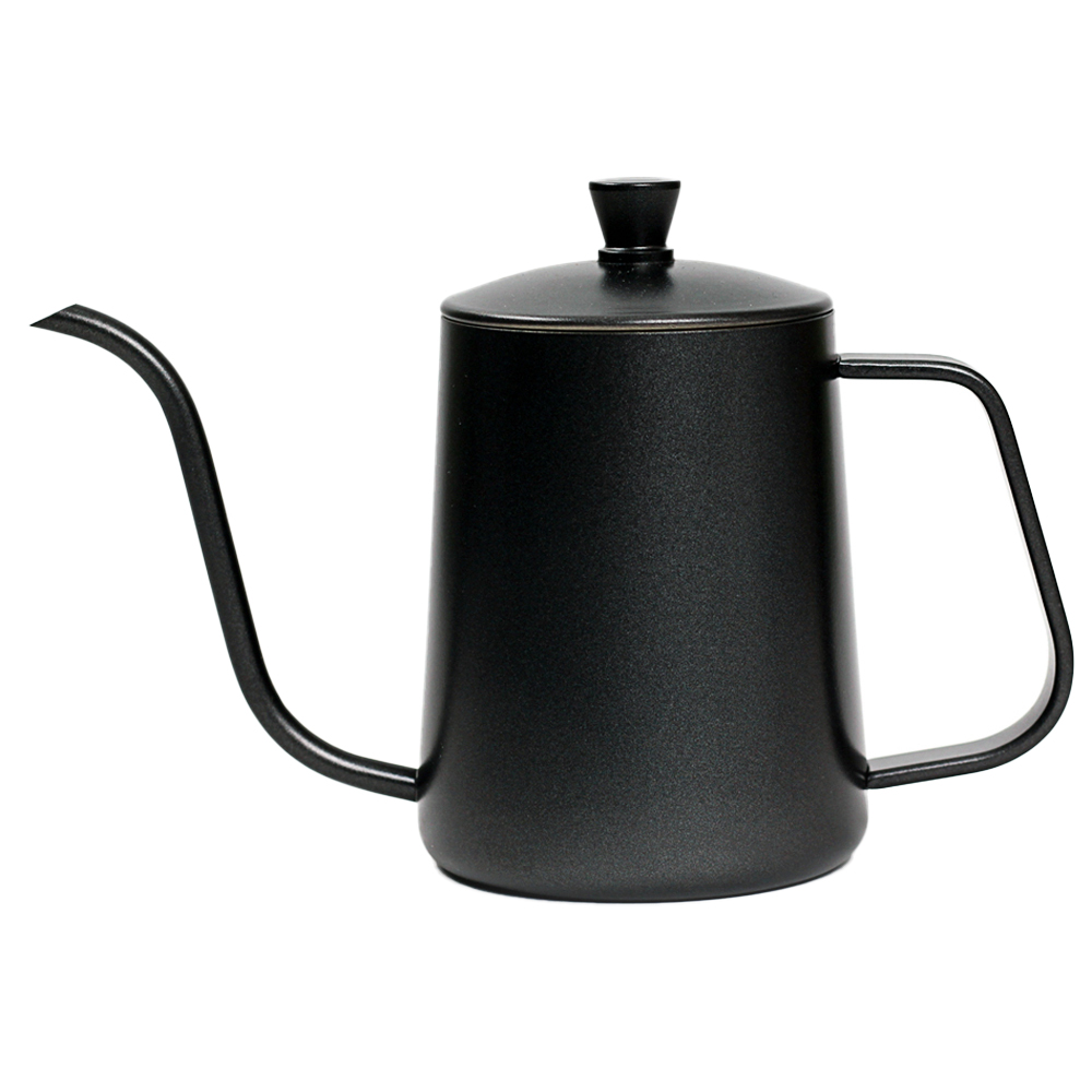 칼딘 드립포트 600ml D-600C, 블랙, 1개