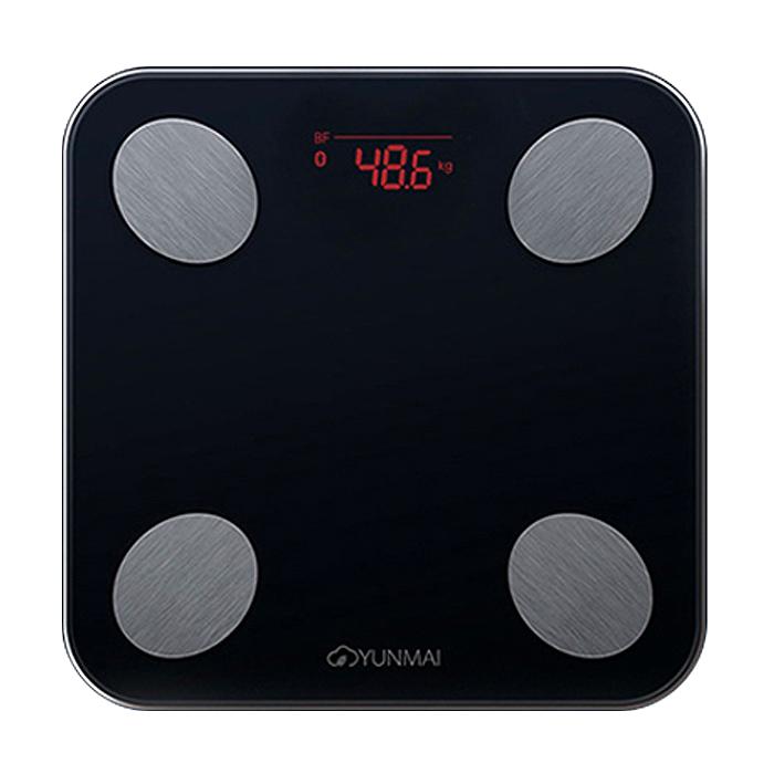 윈마이 스마트 체중계 미니2, M1690, 블랙