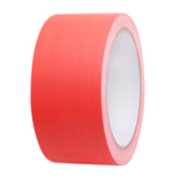 국산 형광색 면테이프 50mm x 10M 오렌지색