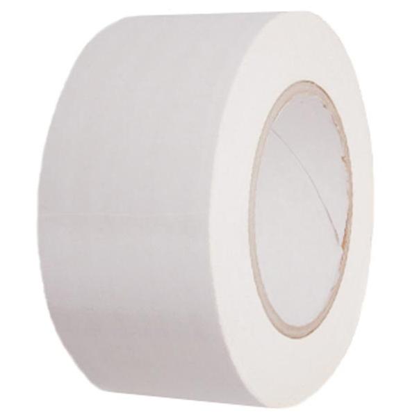 부자테이프 칼라 면 테이프 유광 백색, 1개
