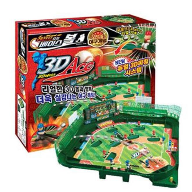 토이드론 레전드 오브 베이스볼 3D Ace 야구게임, 혼합색상