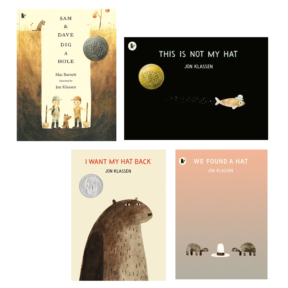존클라센 픽쳐북 컬렉션 4권세트, WalkerBooks