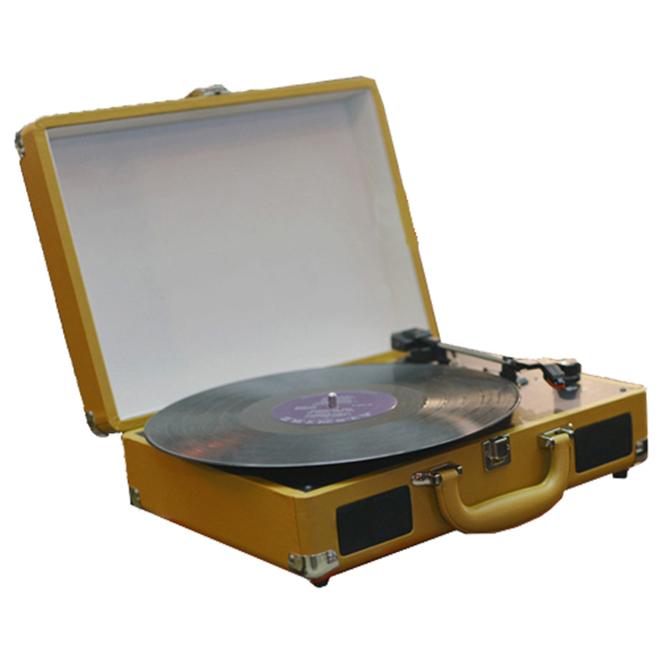 로우락 턴테이블 LP 플레이어 RLP-04, RLP-04(BROWN)