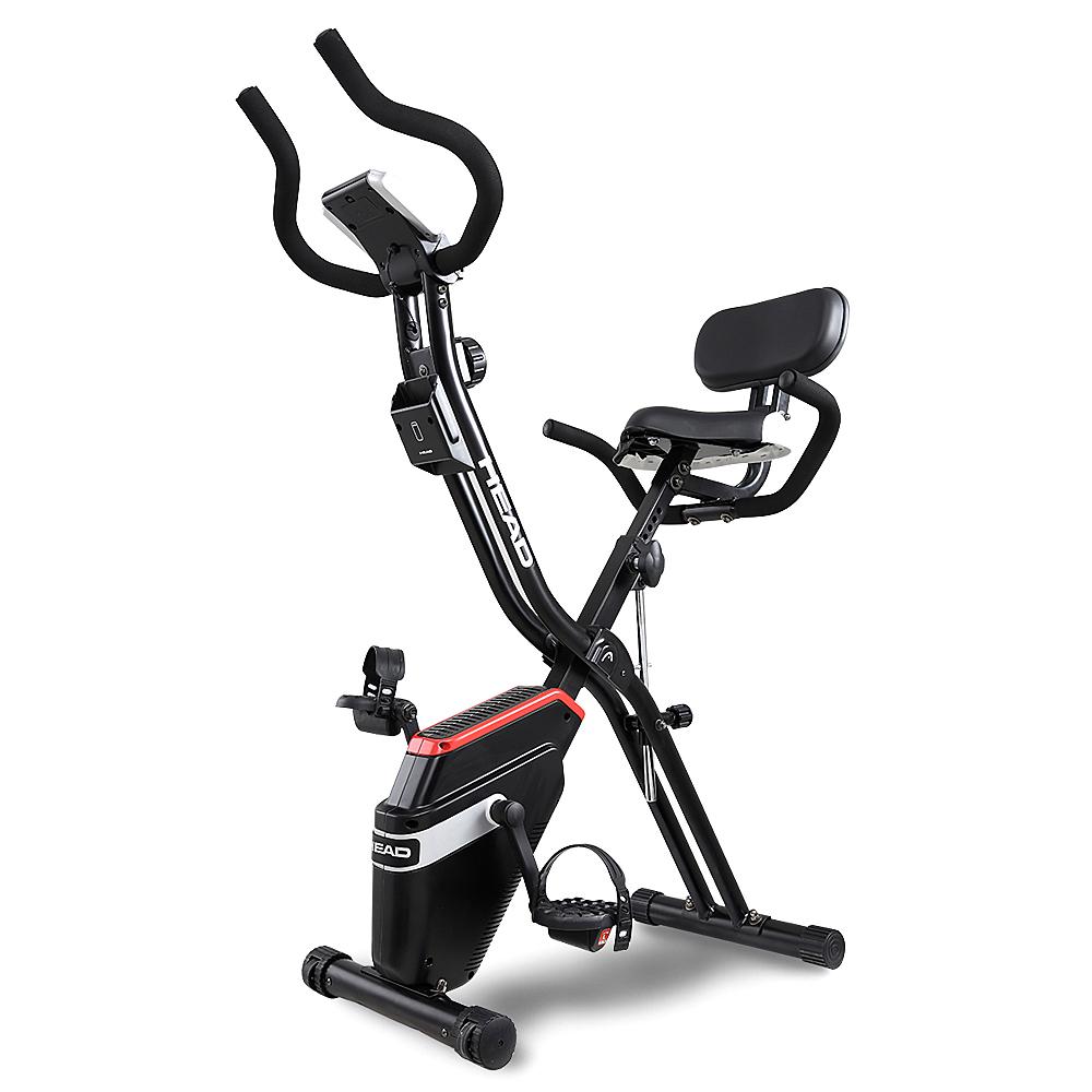 헤드 접이식 헬스 자전거, 3980, 블랙 + 레드