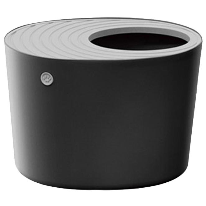 아이리스코리아 고양이 화장실 PUNT-530, 블랙