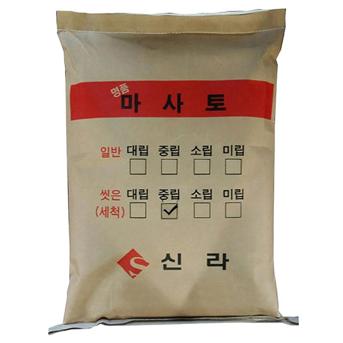 거목산업사 세척마사토 중립 20kg, 1개