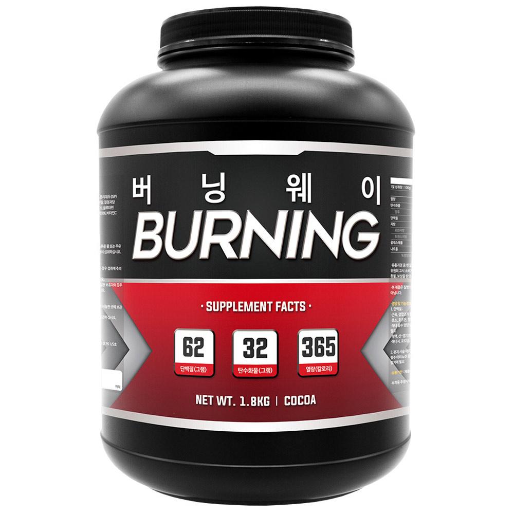 프로틴샵 버닝웨이 단백질 헬스보충제, 1.8kg, 1개
