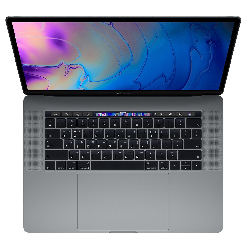 Apple 2018년 맥북 프로 터치바 15 (16GB MAC OS), 스페이스 그레이, i7-2.6GHz 6-core, SSD 512GB