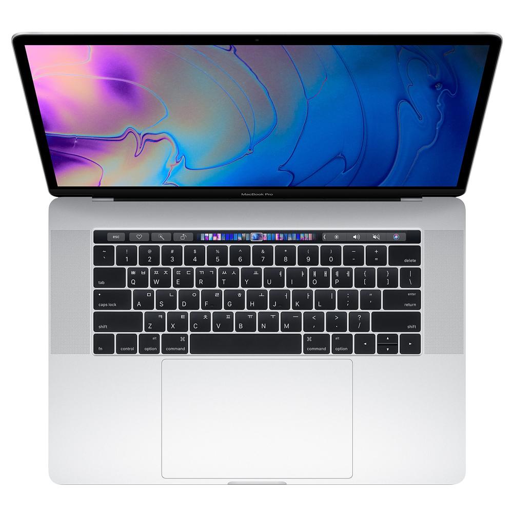 Apple 2018년 맥북 프로 터치바 15 MR972KH/A (2.6GHZ RP560X 16GB SSD 512G MAC OS), 실버