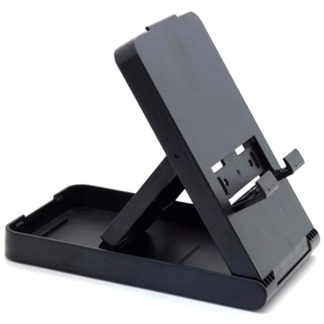 모모켓 포터블3단거치대 닌텐도 스위치 라이트공용 각도조절 스탠드 E61 블랙, 단일 상품, 1개