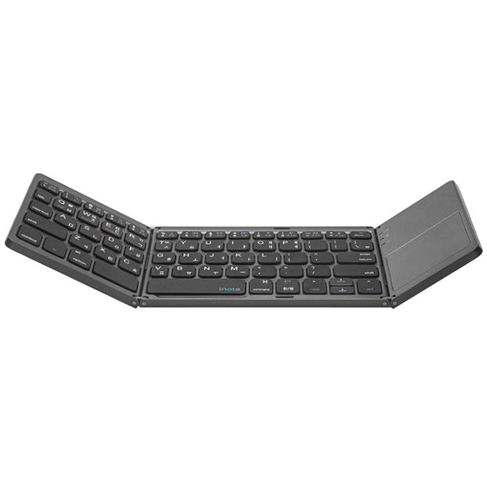 아이노트 X-Folding Touch Pro 블루투스 키보드, 블랙