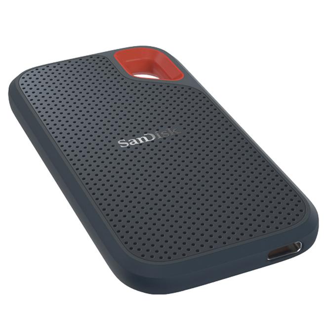 샌디스크 Extreme 포터블 SSD SDSSDE60-500G, 500GB, 혼합색상
