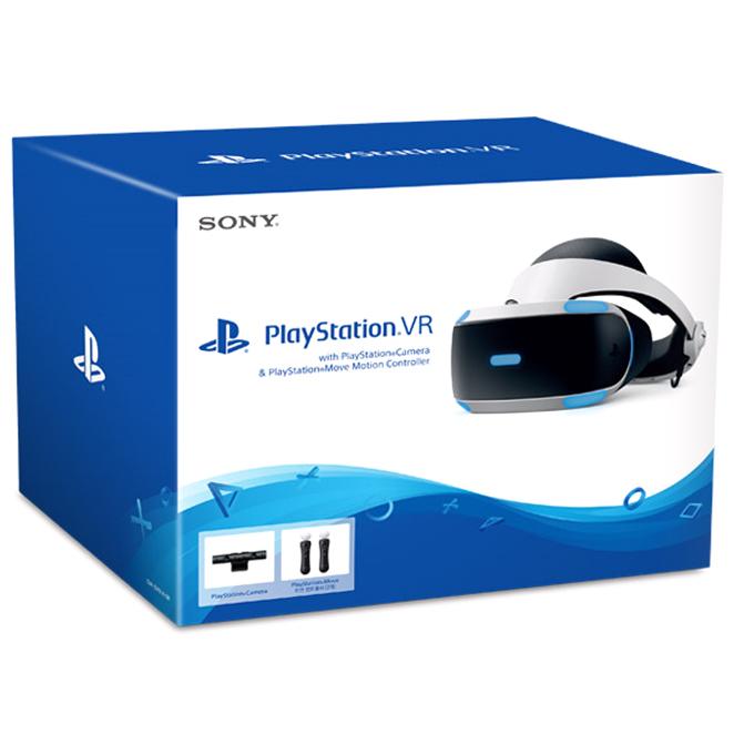 소니 PlayStation VR with Camera + Move 컨트롤러 2p 3번 세트, CUH-ZVR2, 1세트