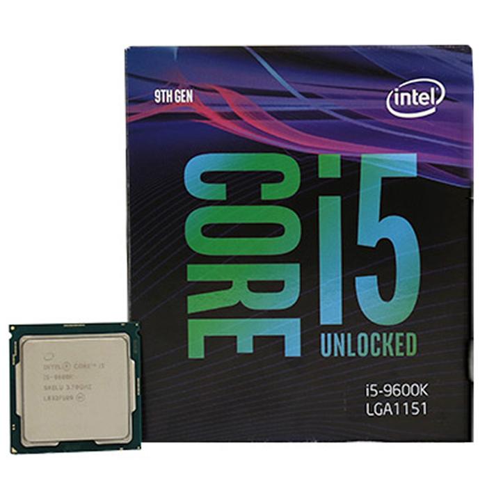 인텔 코어 9세대 i5- 9600K CPU 커피레이크 리프레시, 단일 상품