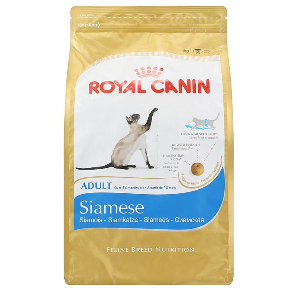 로얄캐닌 어덜트 샴 고양이 사료, 4kg, 1개