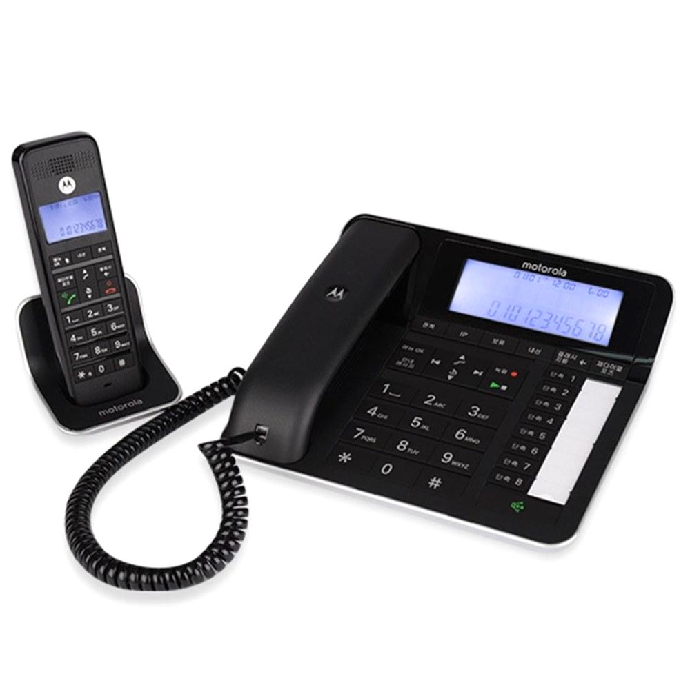 모토로라 유 + 무선 전화기 블랙, C7201A