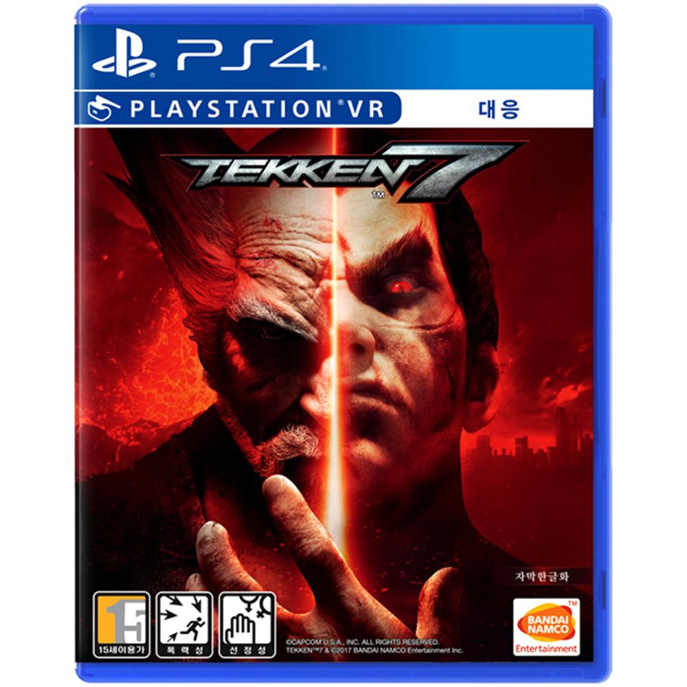 반다이 PS4 철권 7 한글일반판 게임 타이틀 게임 타이틀