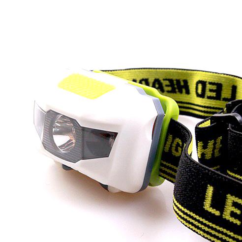 KOOLMAN(쿨맨) 자전거 헤드라이트 LED 헤드랜턴, LED 헤드랜턴 - 그린/화이트, 1개