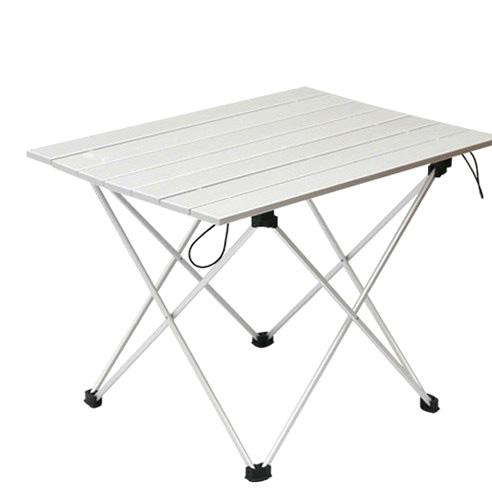 쿨맨 알루미늄 접이식 초경량 캠핑 테이블
