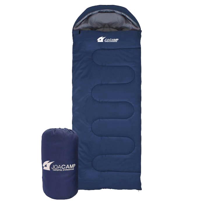 조아캠프 마운트침낭 후드 + 수납가방 세트, 네이비, 1세트