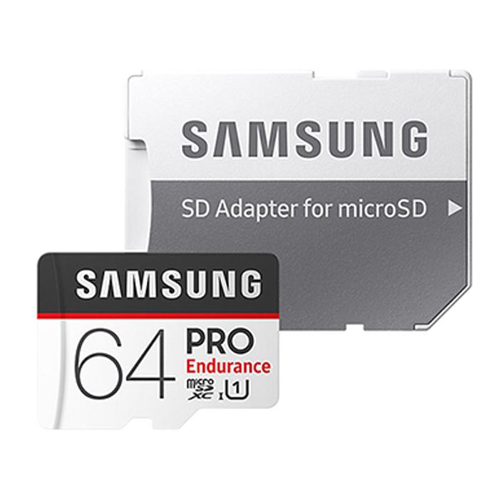 삼성전자 MicroSDXC PRO Endurance 메모리카드 MB-MJ64GA/APC, 64GB
