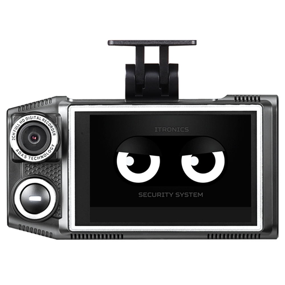 아이패스블랙 듀얼 LCD 블랙박스 ITB-7000ECO 64GB