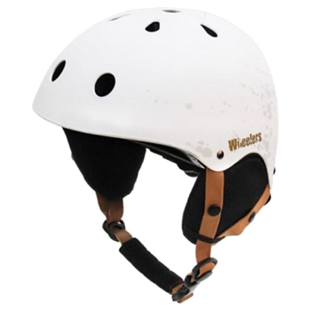 휠러스 스노우 운동용 안전 헬멧 WH-90, 화이트