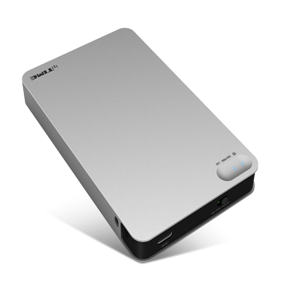 ipTIME 외장 케이스 HDD3225, HDD3225(실버)