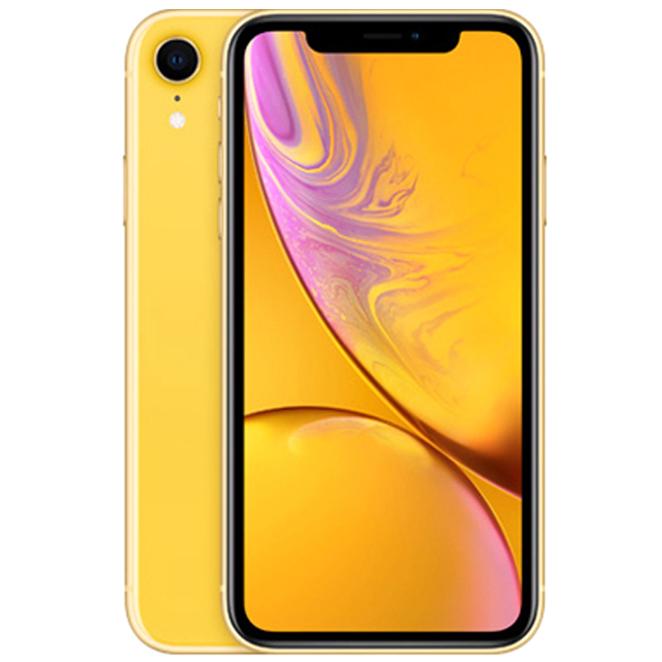 Apple 아이폰 XR 6.1 디스플레이, 옐로우, 64GB