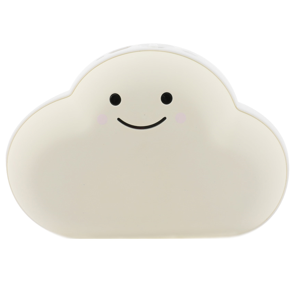 가우넷 단미 구름 USB 충전식 양면 대용량 보조배터리 손난로, 단일 상품, 화이트