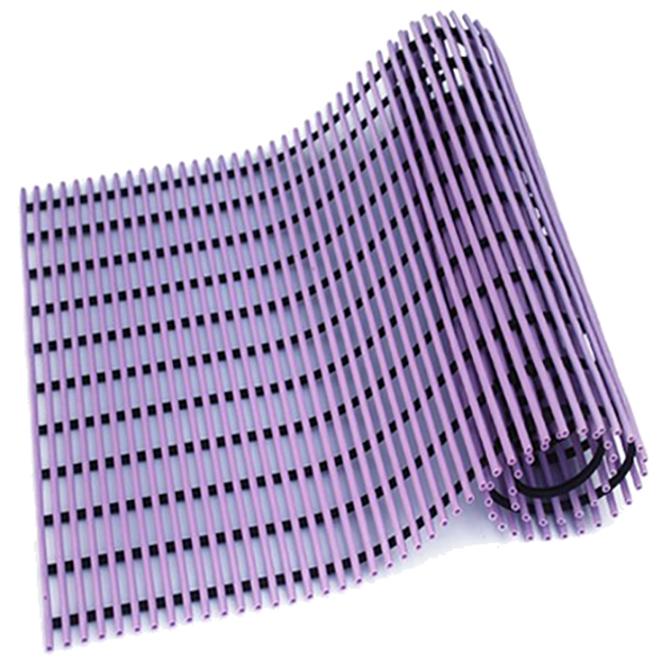 월광매트 미끄럼방지 매트 일반형 120 x 100cm, 보라, 1개