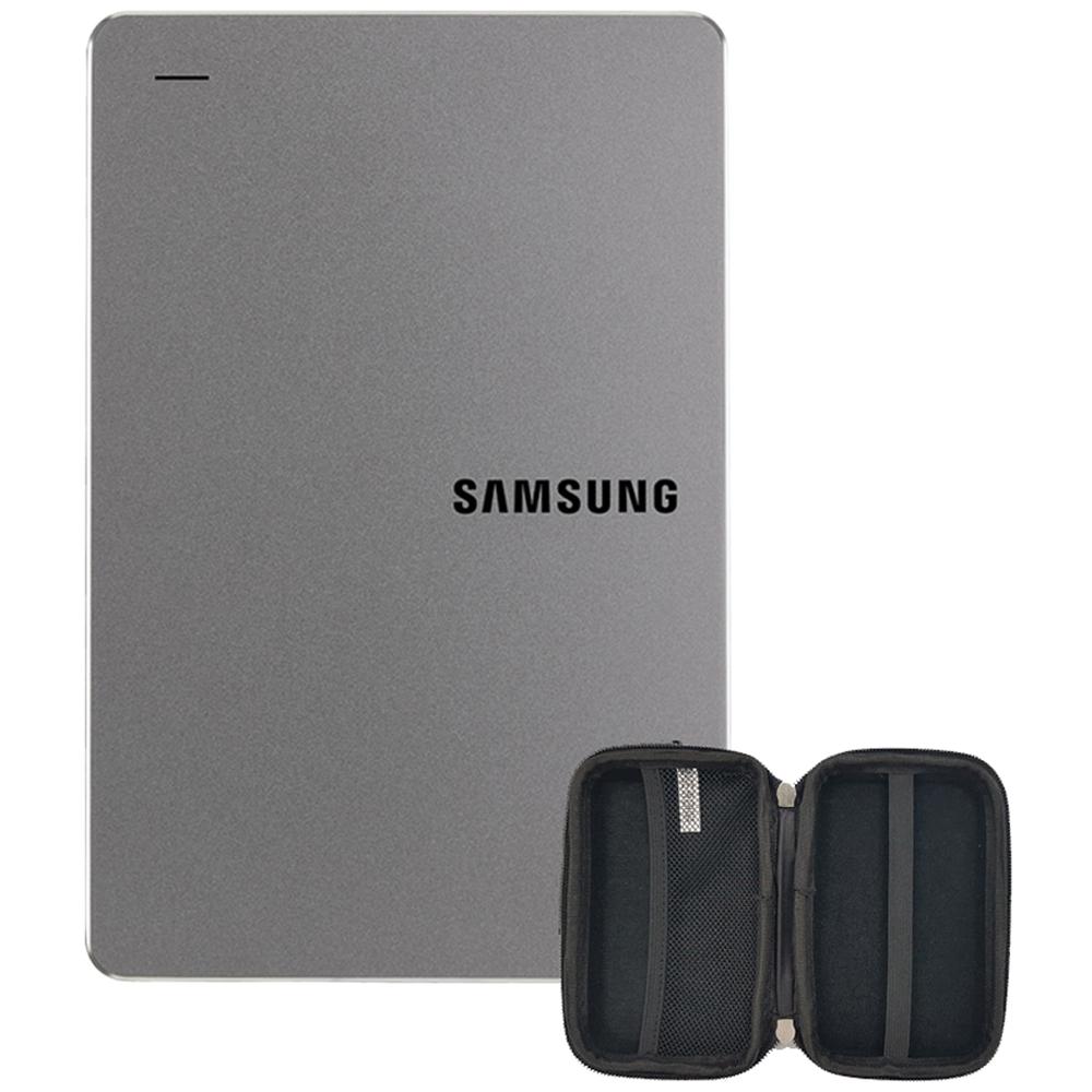 삼성전자 외장하드 Y3 HX-MK10Y39 + 파우치, 1TB, 스모키 그레이
