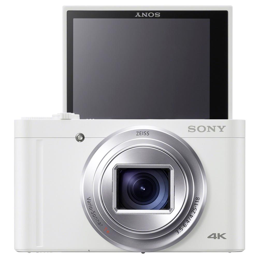 소니 하이엔드 카메라 화이트 DSC-WX800