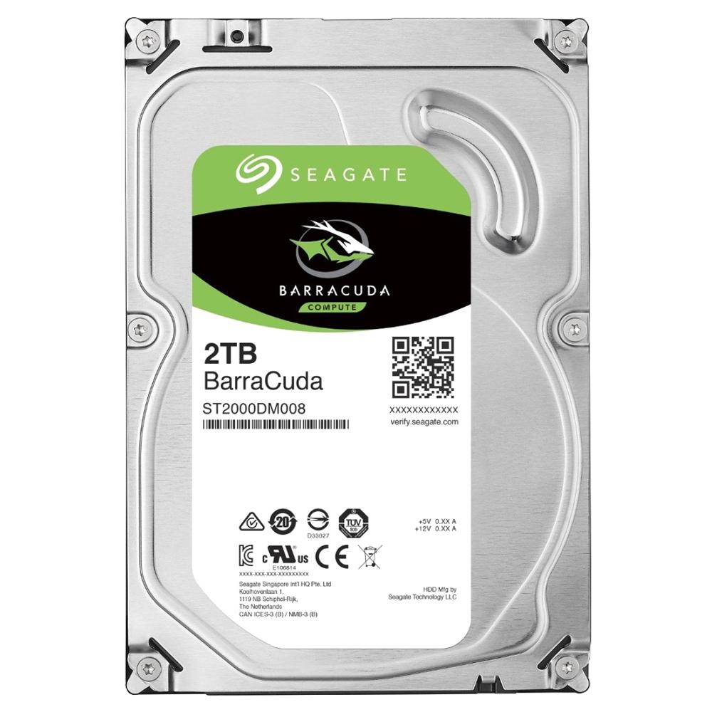 씨게이트 바라쿠다 하드디스크 HDD, ST2000DM008, 2TB