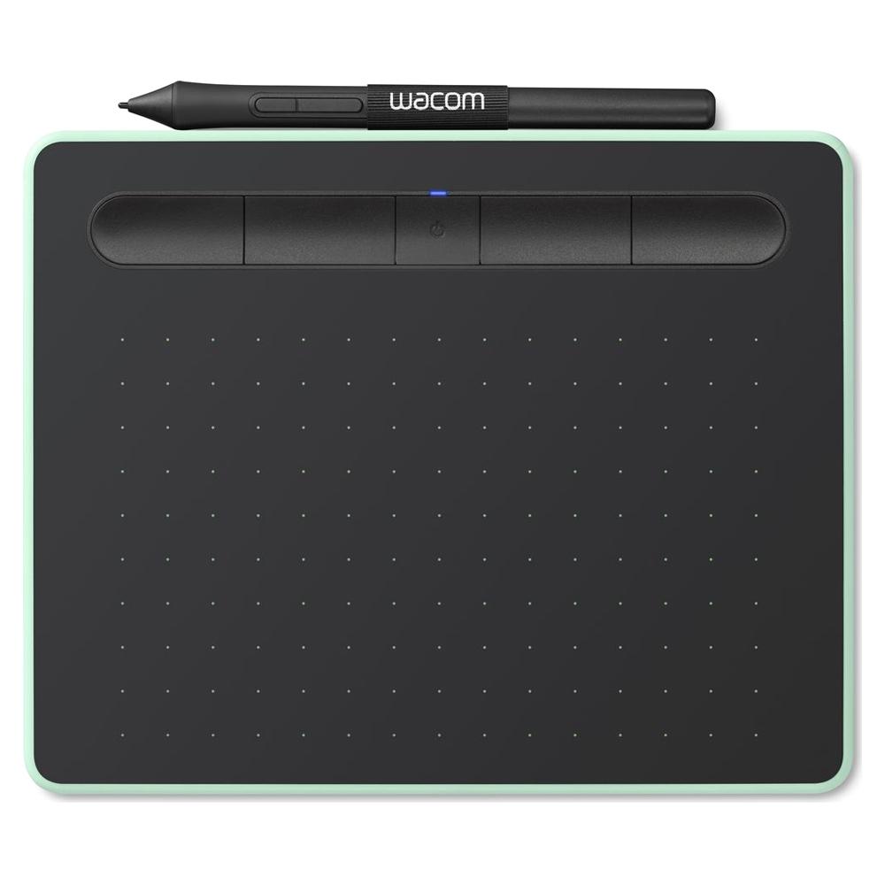 와콤 인튜어스 소형 블루투스 타블렛 일반 CTL-4100WL, CTL-4100WL/E, 피스타치오그린