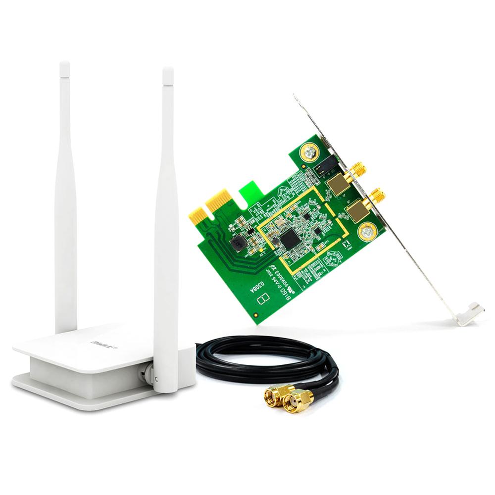ipTIME 무선랜카드 데스크탑용, A2000PX-MU