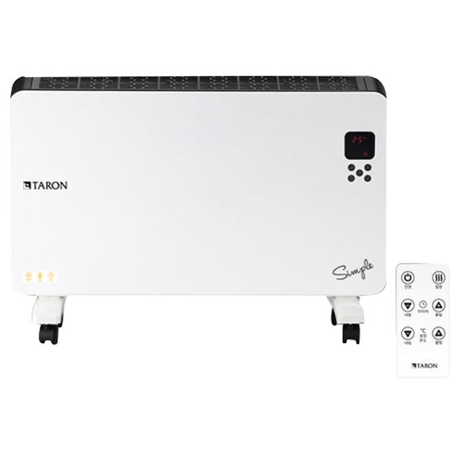 타론 심플 컨벡터 온풍기 전기히터, TR-C100R, 혼합 색상