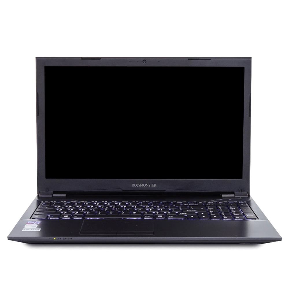 한성컴퓨터 FH58 BossMonster value8100W 노트북 (i3-8100 39.62 cm WIN10 8G SSD240G), 모던블랙