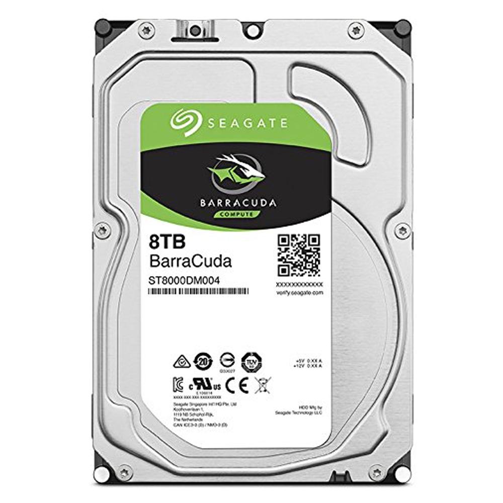 씨게이트 바라쿠다 HDD, ST8000DM004, 8TB
